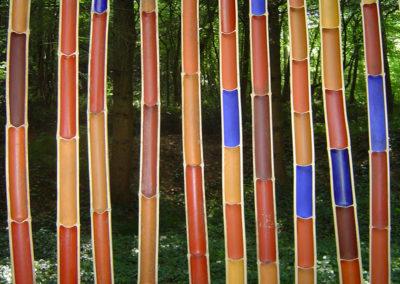 2ligne de bambous