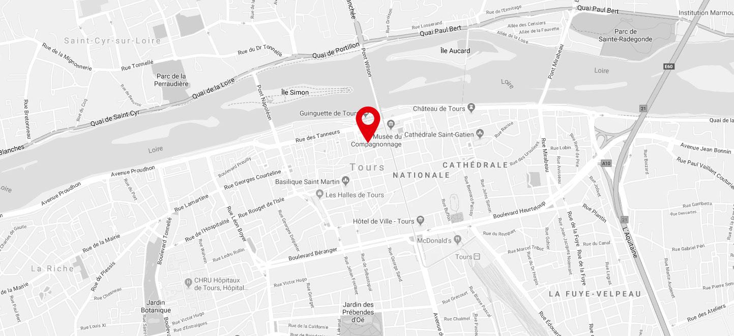 ARTOTHEQUE DE TOURAINE - 16 BIS, JARDIN FRANÇOIS 1ER - 37000 TOURS